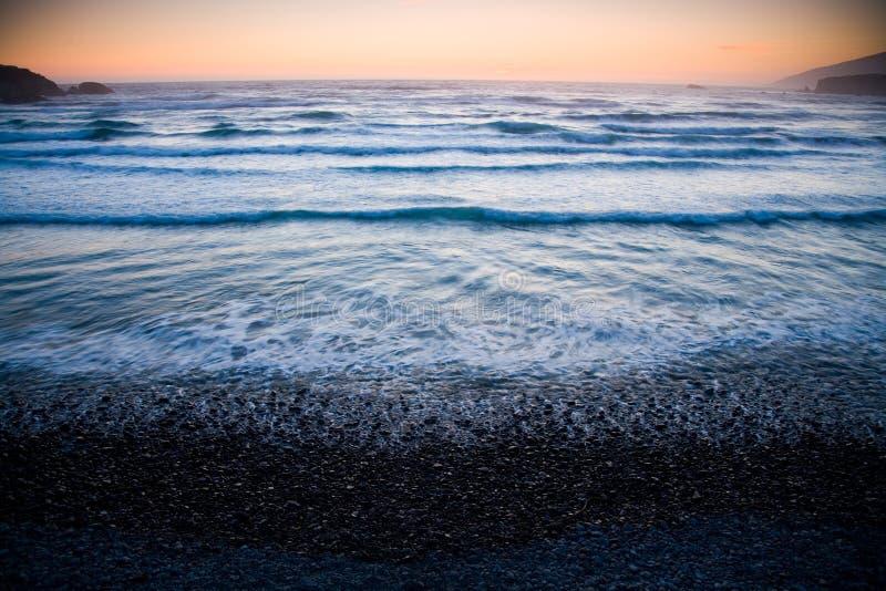 Pebble Beach fotografía de archivo libre de regalías