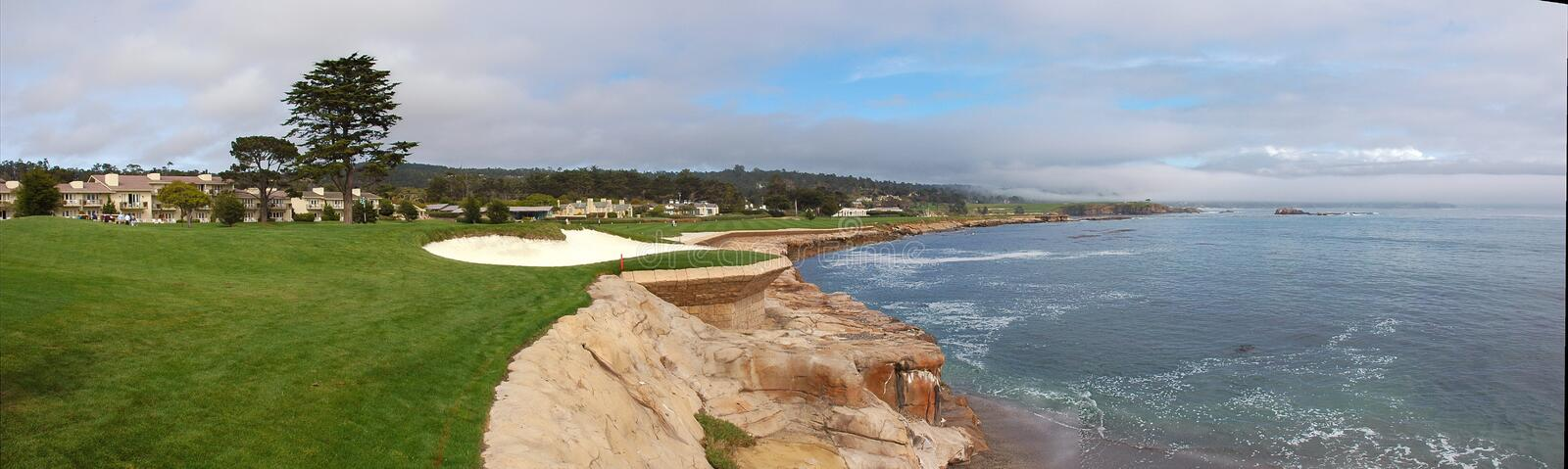 Download Pebble Beach Hole 18 Royalty Free Stock Photos - Image: 19974928
