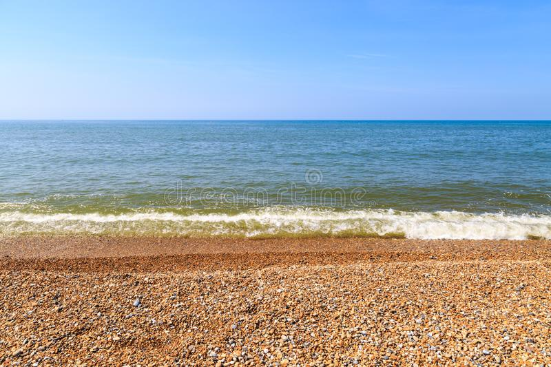 Download Pebble beach stock photo. Image of water, landscape - 106564650