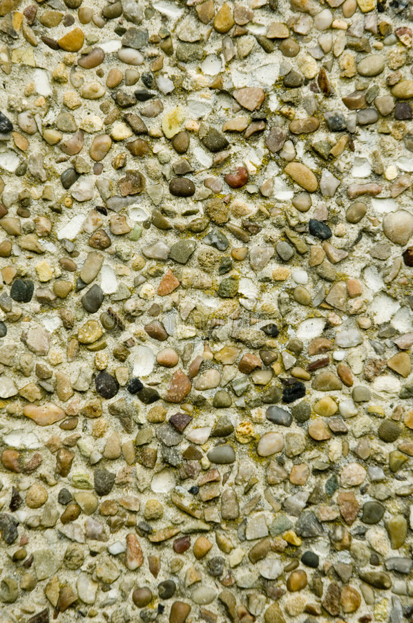 Free Pebble Dashed Wall Royalty Free Stock Images - 1307089