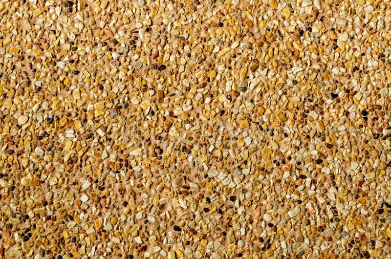 Pebble gravel floor royalty free stock photos