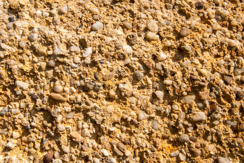 Pebble sand background stock photography