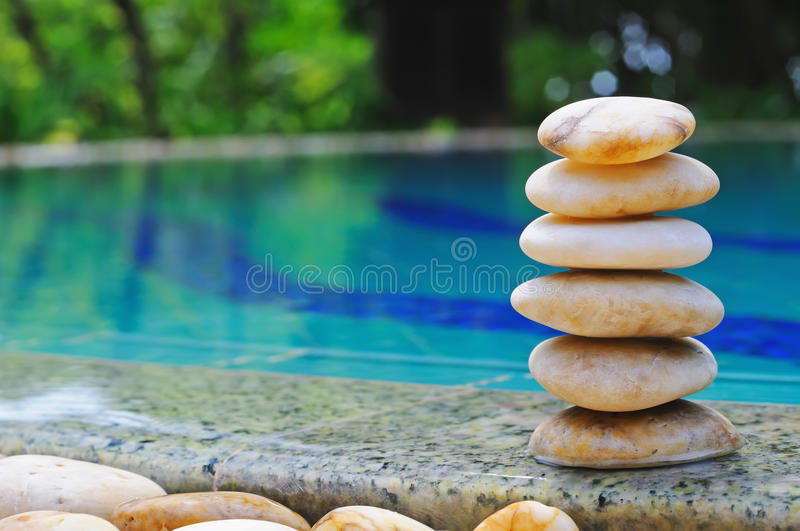 Pebble Stack Royalty Free Stock Images