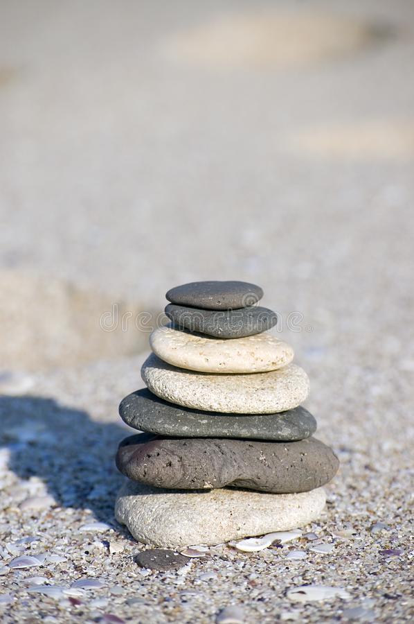Pebble Stack Stock Photography