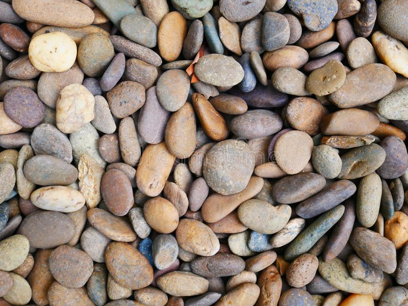 Pebble stone background, aroma stone in nature garden. Pebble stone pattern.pebbles beach stone outdoor garden , rock sand nature background royalty free stock photography