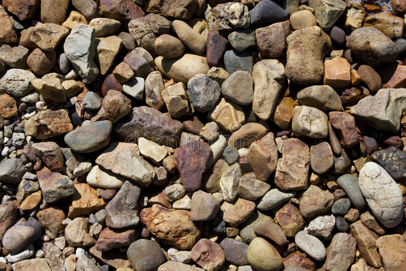 Pebble stone background royalty free stock image