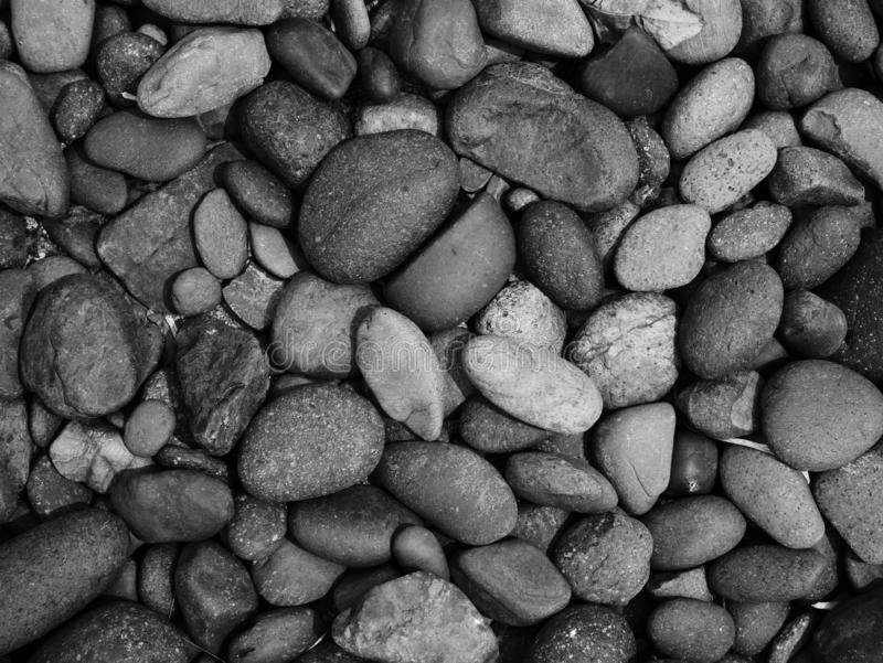 Pebble stone background, aroma stone in nature garden. Pebble stone pattern.pebbles beach stone outdoor garden , rock sand nature background royalty free stock image