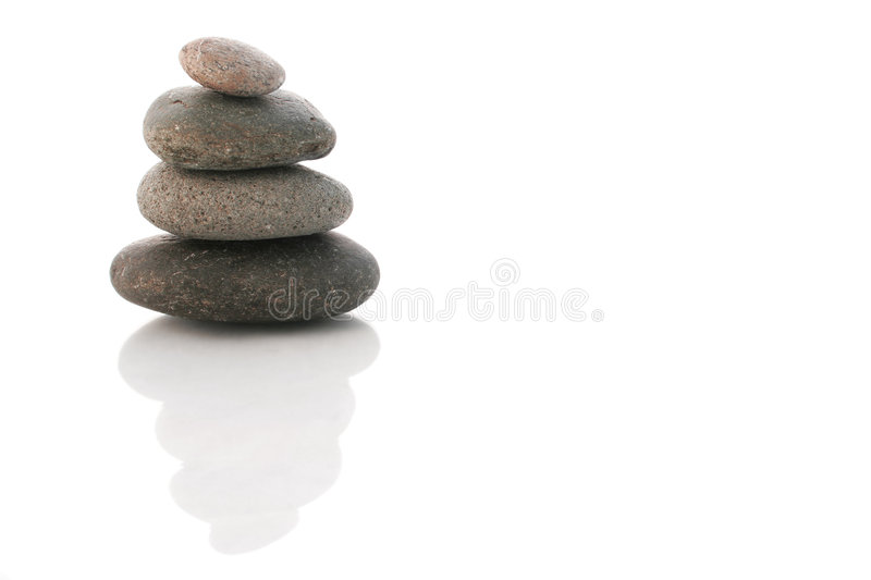 Pebble Zen Stack stock photos
