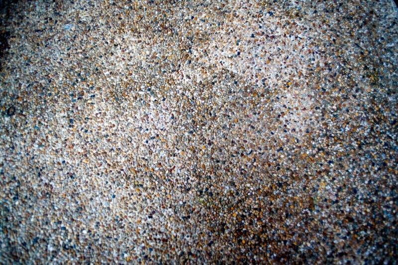 Pebbled podłoga która może używać jako ładny tło zdjęcie stock