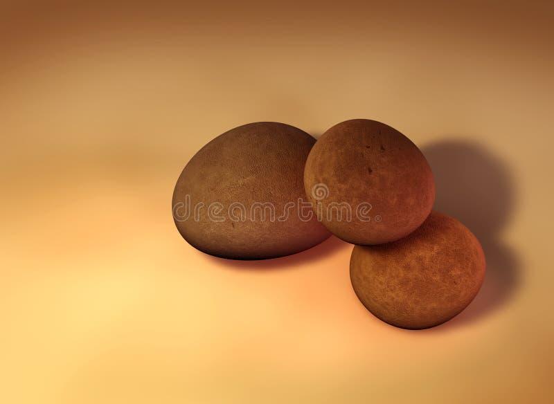 pebbles stock illustrationer