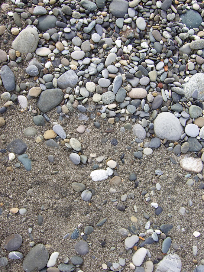 Pebbles background stock photography