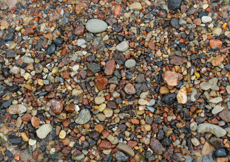 Pebbles on the Sand. Pebbles on a Baltic Sandy Beach royalty free stock image
