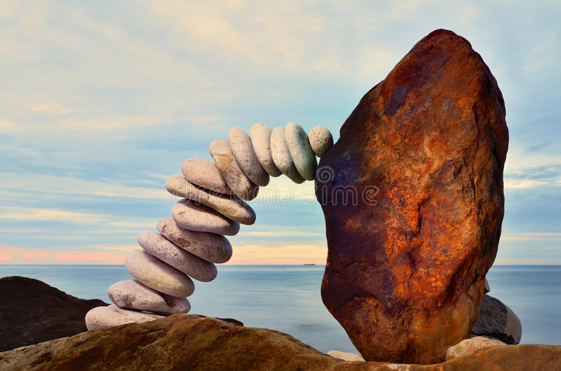 Download Pebbles and boulder stock photo. Image of crookedness - 33431410