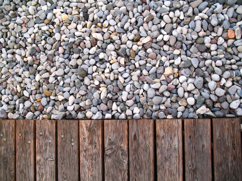 Pebbles colors stock photography