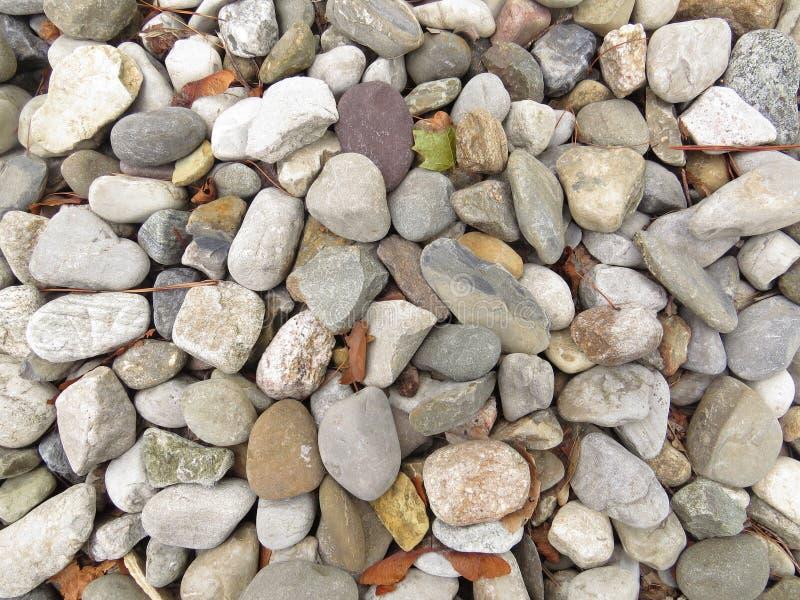 Pebbles On The Ground stock photos
