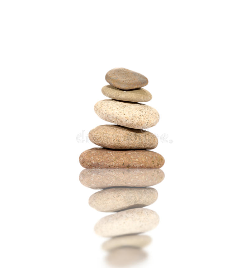 Free Pebbles Stack Pattern Royalty Free Stock Photography - 26523897