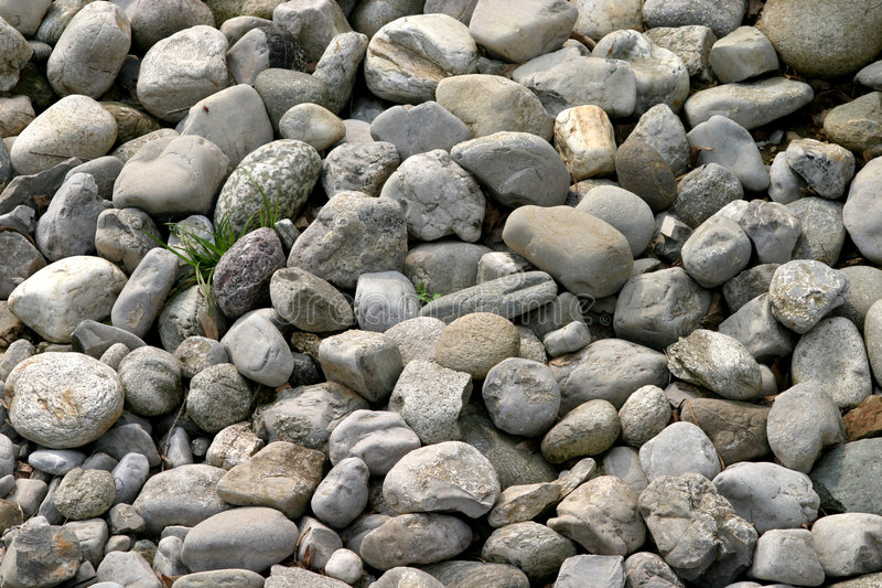 Pebbles and stones royalty free stock photos