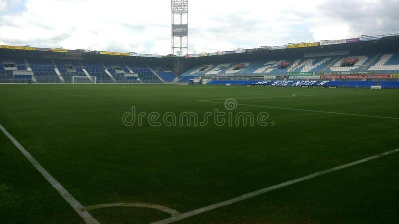 The Pec Zwolle Stadium From The Inside Stock Image Image Of Player Stadium 105792389
