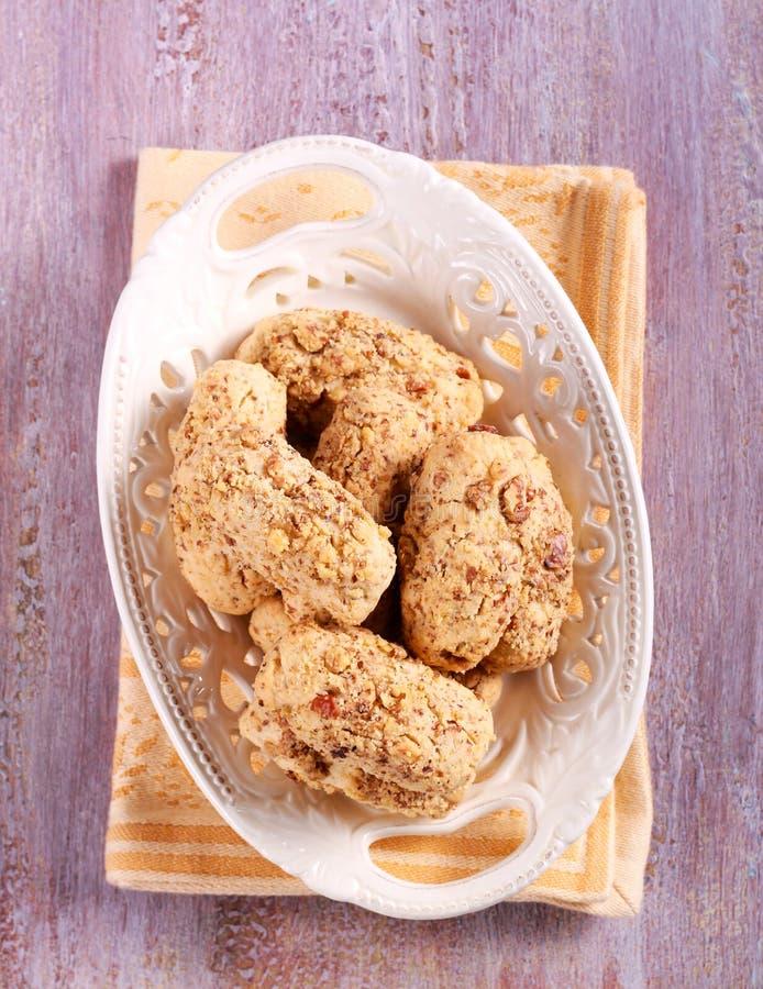 Download Pecan Beli Ciastka Na Talerzu Zdjęcie Stock - Obraz złożonej z pecan, śniadanio: 106905288