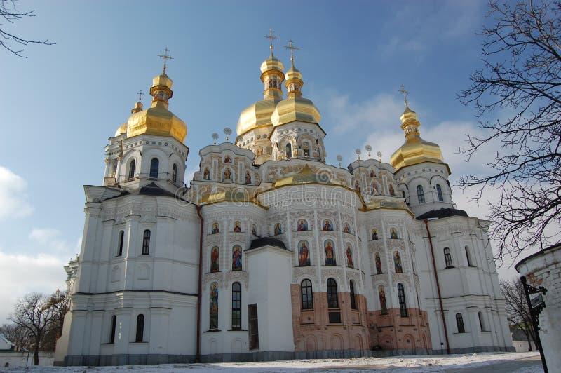 pechersk de monastère de lavra de Kiev photographie stock