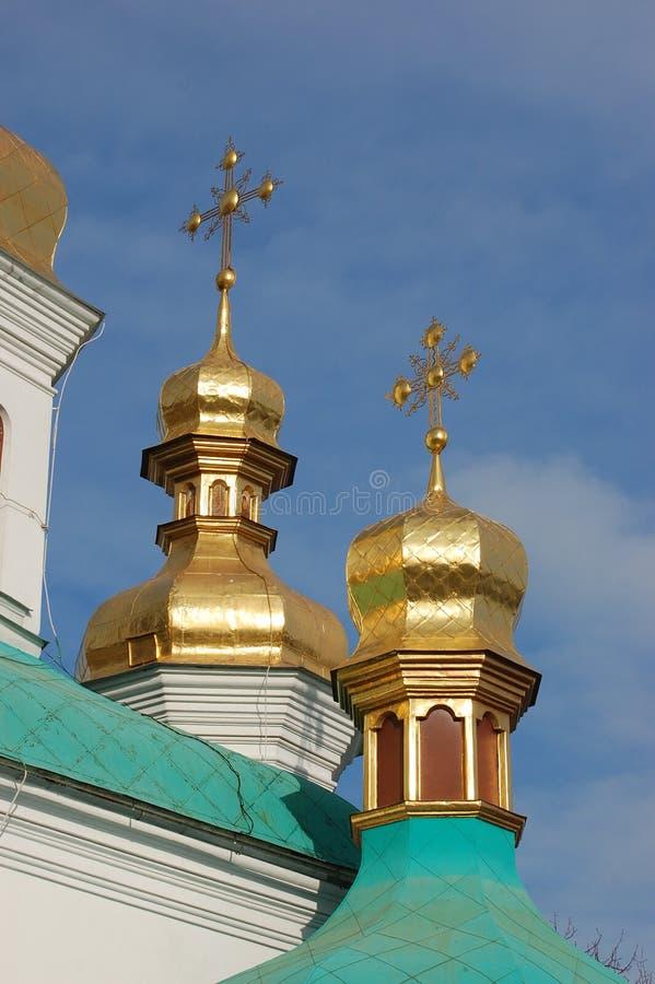 pechersk de monastère de lavra de Kiev photographie stock libre de droits