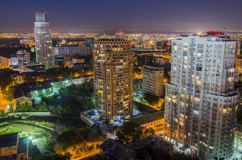 Pechersk stad arkivbild