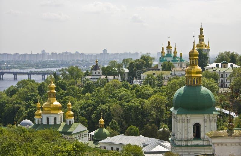 pecherskaya ukraine för kloster för kiev kievolavra arkivfoto