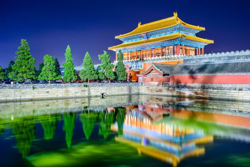 Pechino Cina la Città proibita immagini stock