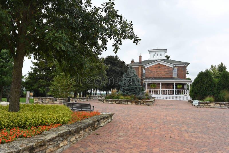 Peck Farm Park Interpretative Center foto de stock royalty free