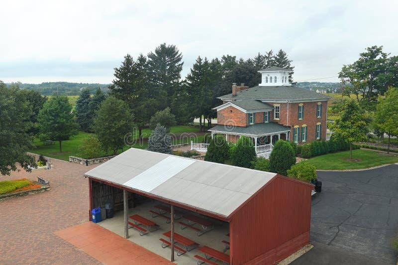 Peck Farm Park Interpretative Center imagem de stock royalty free