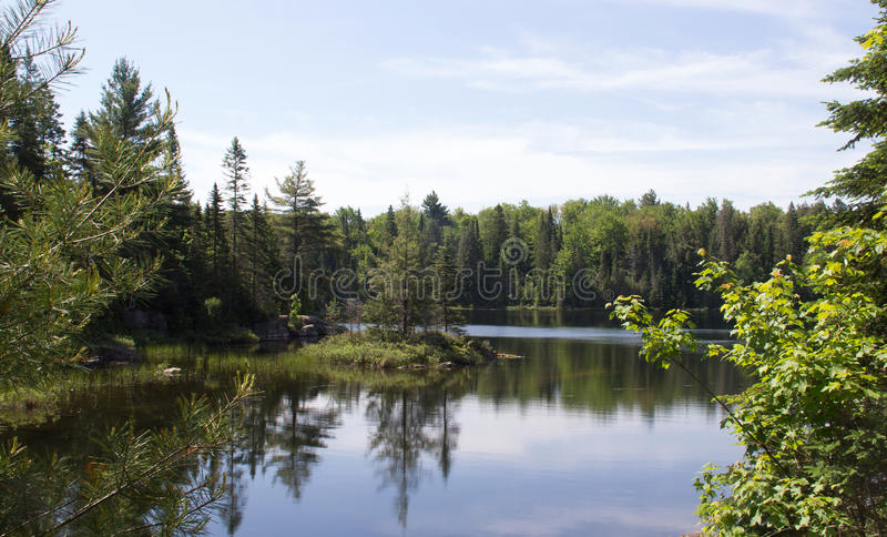 Peck Lake, Algonquin Provincial Park 3 royalty free stock images