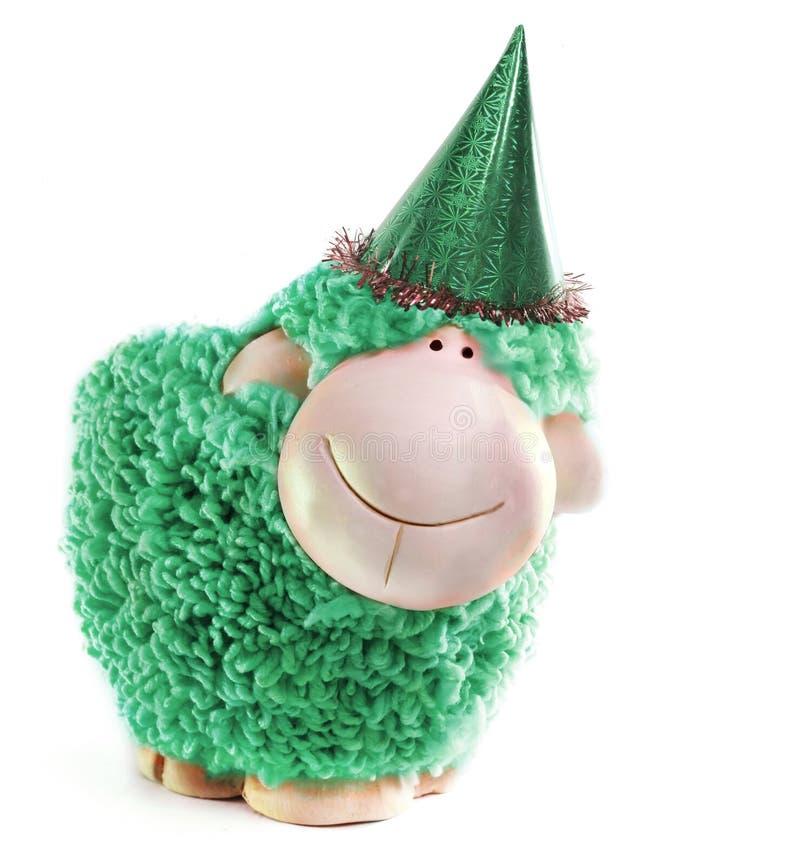 Pecore del nuovo anno immagini stock libere da diritti