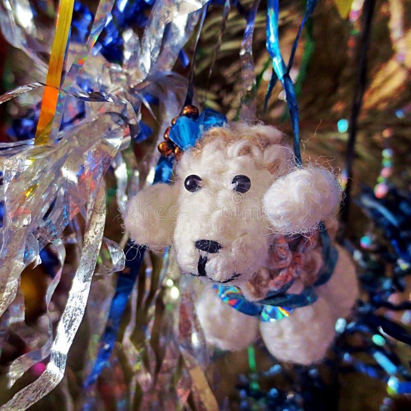 Pecore del nuovo anno fotografia stock libera da diritti