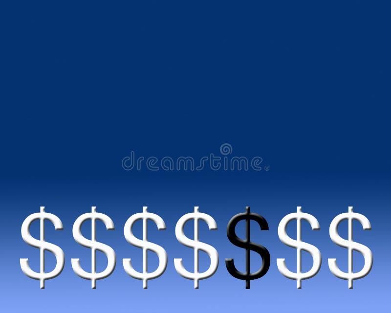Download Pecore nere monetarie illustrazione di stock. Illustrazione di figure - 215774