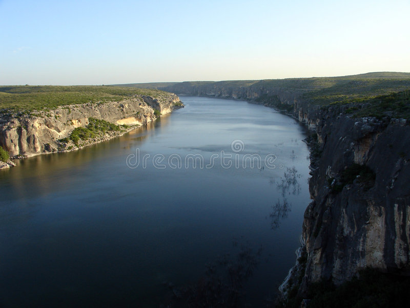 pecos-flod royaltyfri foto
