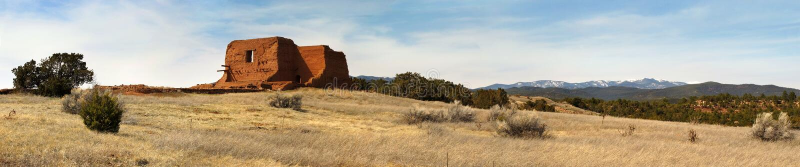 Pecos National Historic Park New Mexico along Sant