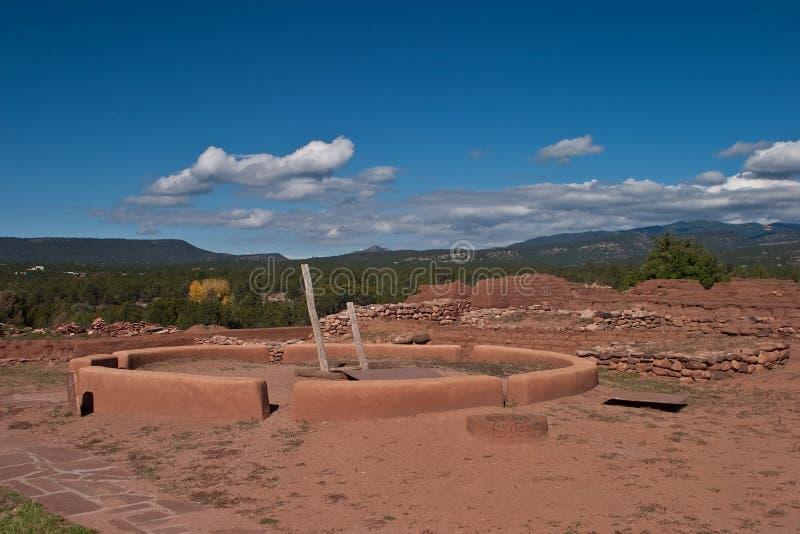 pecos pueblo στοκ εικόνες