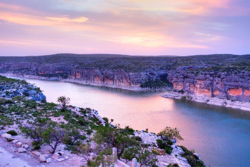 Pecos River fotografering för bildbyråer