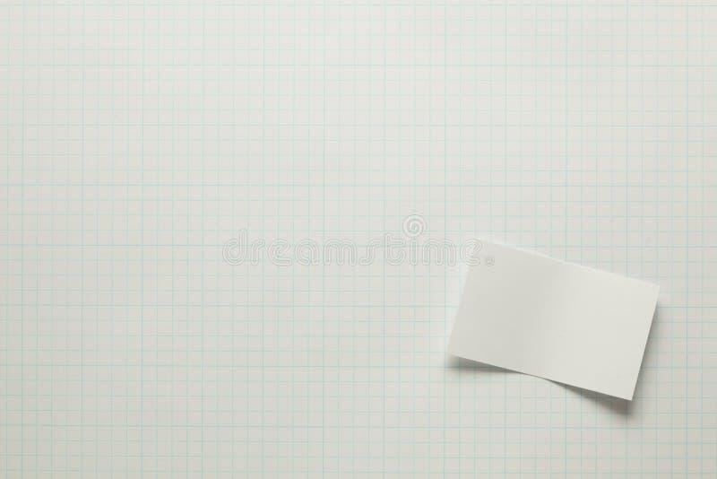 Pedaço de papel em branco foto de stock royalty free