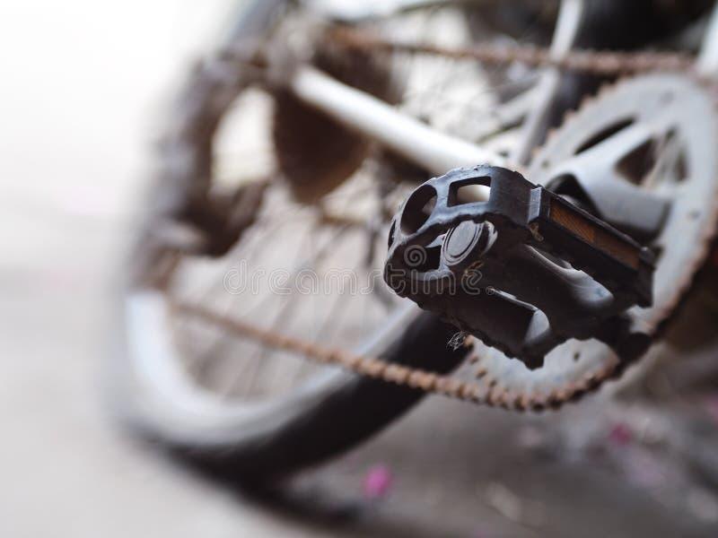 Pedal de BMX fotografía de archivo libre de regalías