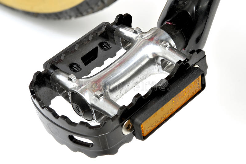 Pedal de la bici fotografía de archivo