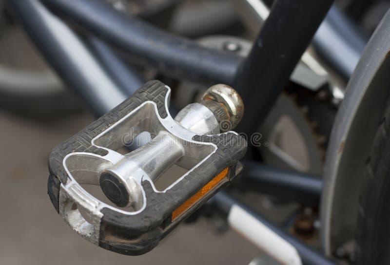 Pedal de la bicicleta fotografía de archivo libre de regalías