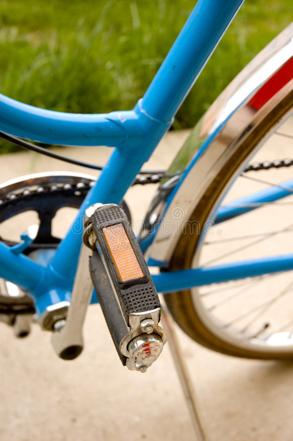Download Pedal And Middle Part Of A Bicycle Stock Photo - Image: 4885600
