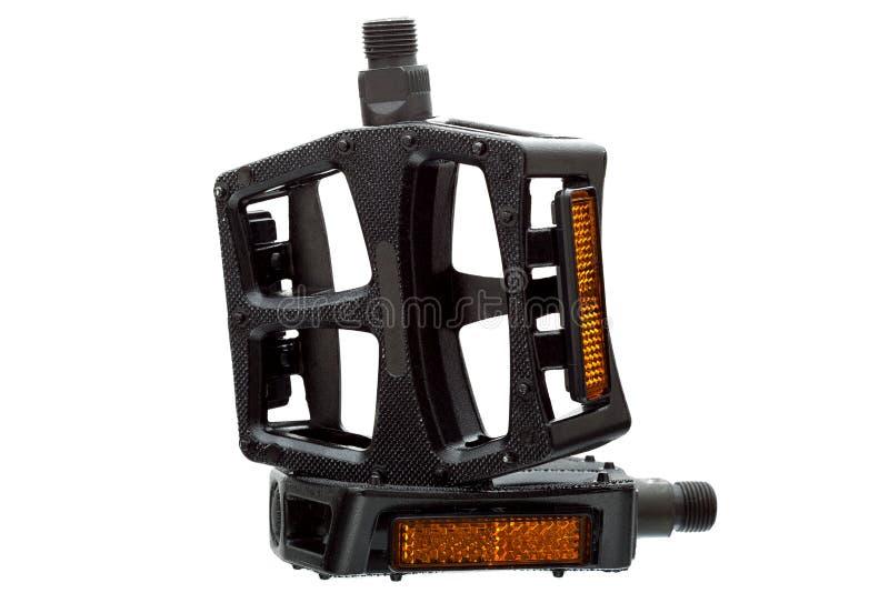 Pedale mit einem hellen Reflektor lizenzfreie stockfotos