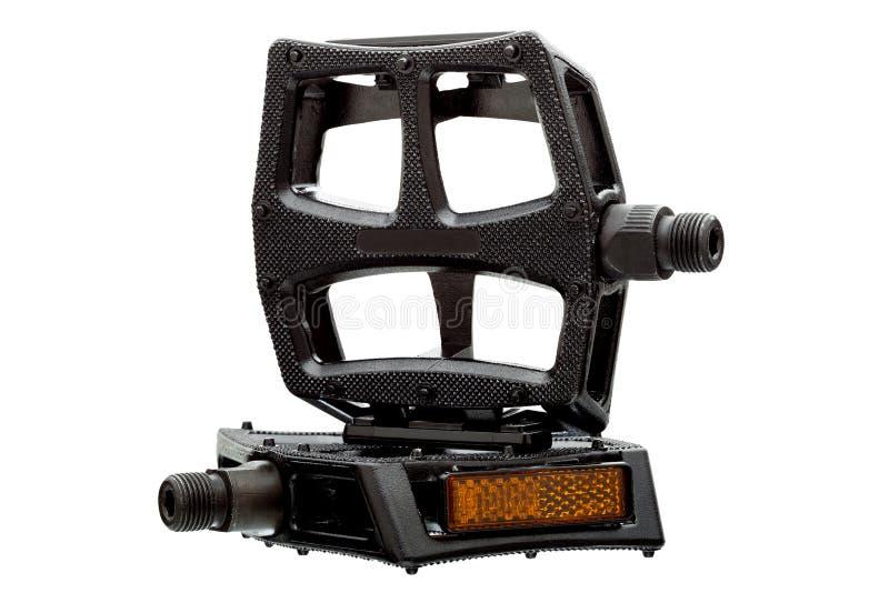 Pedale mit einem hellen Reflektor stockbilder