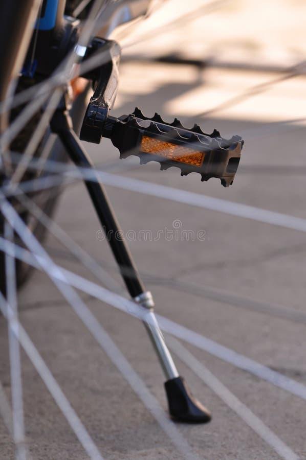 Pedali del mountain bike fotografia stock libera da diritti