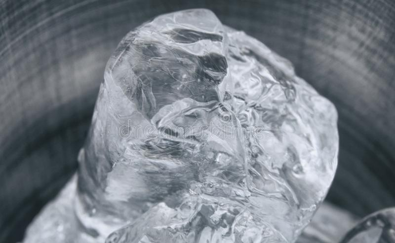 Pedazo de hielo imágenes de archivo libres de regalías