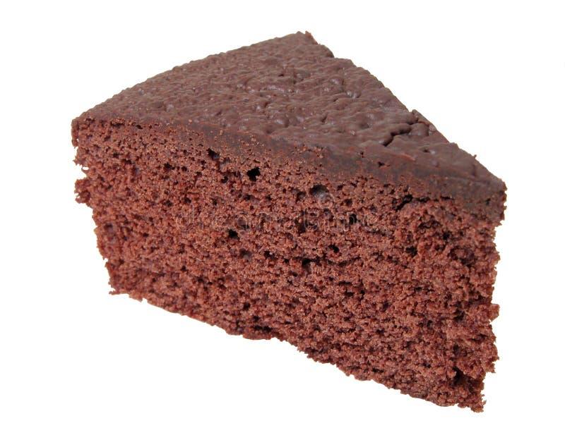 Pedazo de la torta de chocolate imagenes de archivo