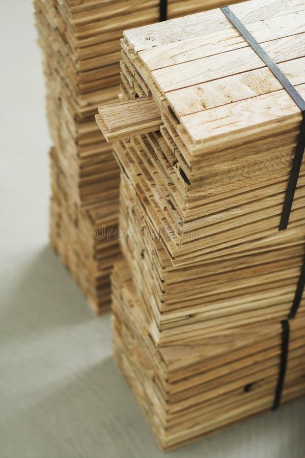 Pedazo de madera del entarimado imagen de archivo libre de regalías