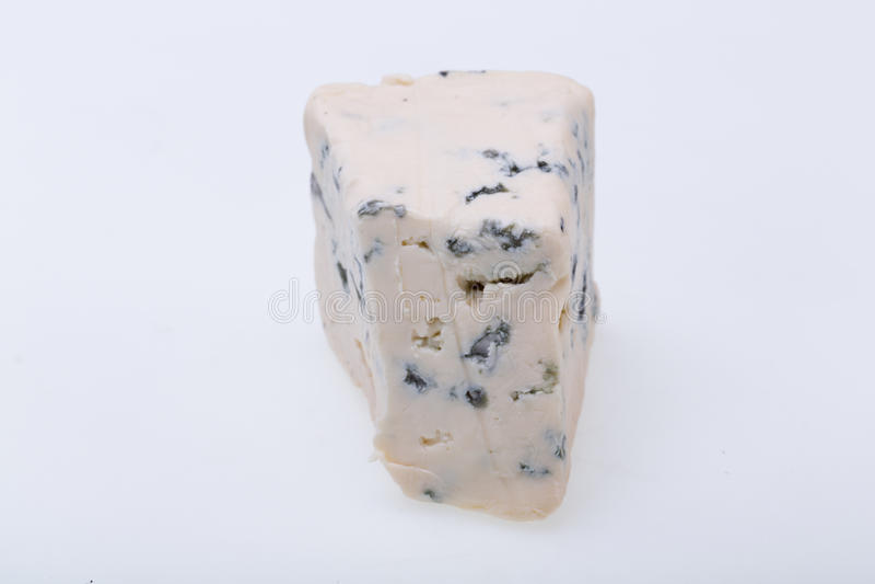 Pedazo de queso verde foto de archivo